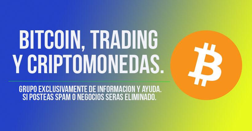 Bitcoin, trading y criptomonedas