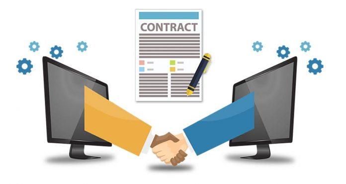 Smart contract dynatiq ico