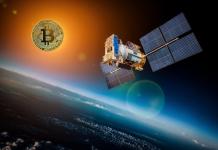 One miner minar en el espacio Bitcoin Blockchain Ethereum