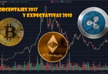 comparativa bitcoin 2017 y 2018