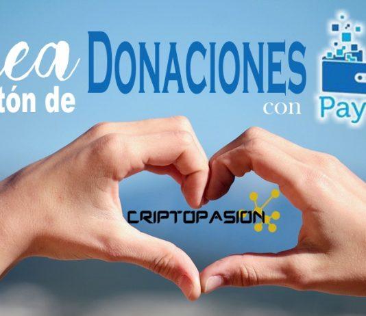 crear boton donaciones coinpayments