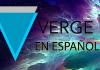 verge XVG criptomoneda en español informacion