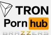 Ya se puede pagar con TRON TRX en Brazzers, pornhub y