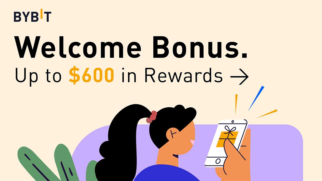 Bono de bienvenida de Bybit: hasta $ 600 en recompensas